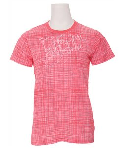 Life Collective Scribbles T-Shirt Red Lines