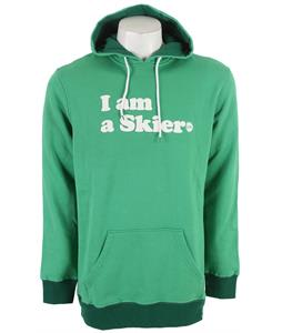 Line I Am A Skier Po Hoodie