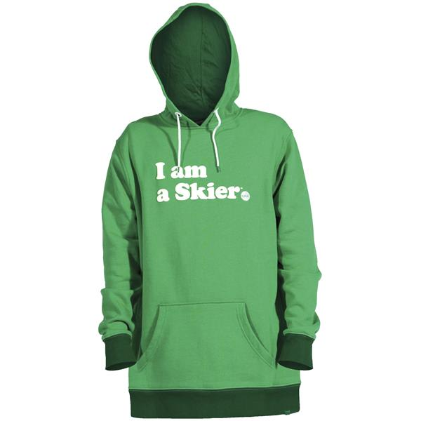 Line I Am A Skier Hoodie