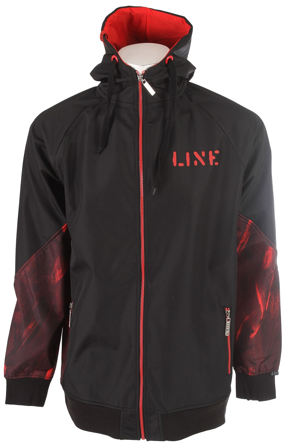 Line Influence Fz Ski Jacket Black