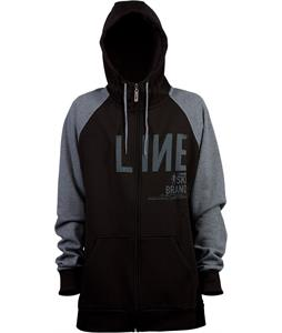 Line Original Full Zip Hoodie Black