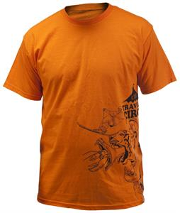 Line Traveling Circus T-Shirt Orange