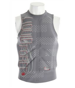 Liquid Force Cardigan Wakeboard Comp Vest Grey