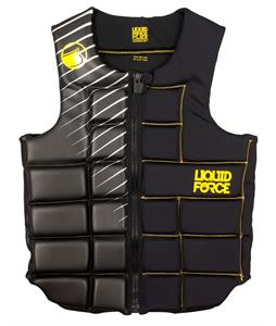 Liquid Force Flex Comp Wakeboard Vest Black/Yellow