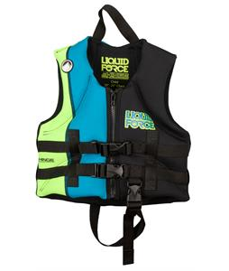 Liquid Force Jr. Hinge Wakeboard Vest Black/Blue Child
