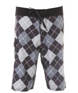 Liquid Force Board Games Boardshorts Black/Grey