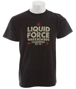 Liquid Force Bolt T-Shirt Black