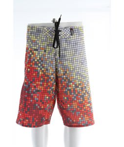 Liquid Force Pixel Boardshorts Red