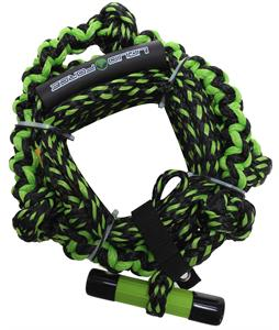 Liquid Force Surf Line T-Handle Wakesurf Rope Green 24Ft