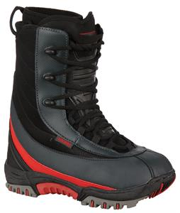 Lamar Clash Snowboard Boots Blk/Grey/Red