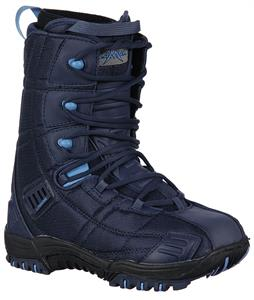 Lamar Matrix Byrnes Snowboard Boot Navy/Sky