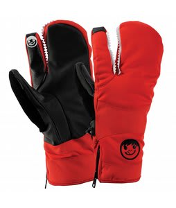 Neff Lobster Gloves Red