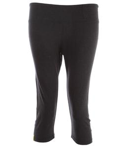 Lole Serene Capri Pants Black Heather