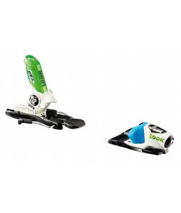Look PX 12 Wide Ski Bindings Blue Green