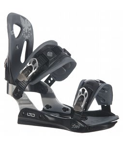 LTD LT25 Snowboard Bindings Black