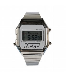 Neff Lux Watch Silver