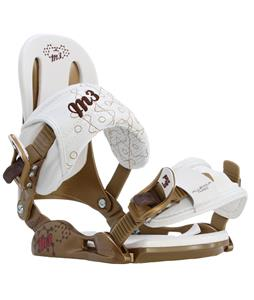 M3 Equinox Snowboard Bindings Gold