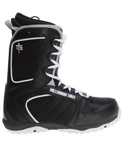 M3 Militia Snowboard Boots Black/White