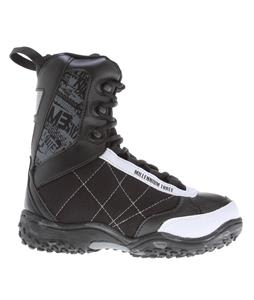 M3 Militia Jr. Snowboard Boots Black/White