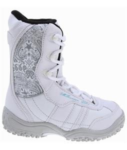 M3 Venus Jr. Snowboard Boots White/Grey