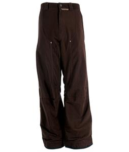 M6 Falcon A Snowboard Pants Burnt Brown Cord