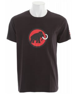 Mammut Logo T-Shirt Black-Inferno