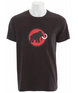 Mammut Logo T-Shirt Black-Inferno