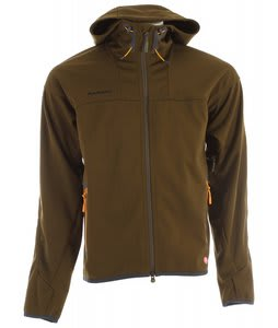 Mammut Ultimate Hoody Softshell Ski Jacket Ivy