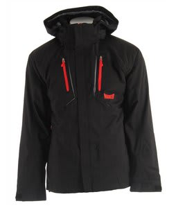 Marker Cornice 3-In-1 Ski Jacket Black