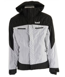Marker Empire Shell Ski Jacket White/Black