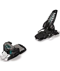 Marker Griffon Ski Bindings Black/White/Teal 90mm