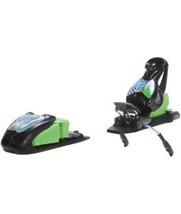 Marker M 7.0 Free Ski Bindings Black/Green/Blue 85mm