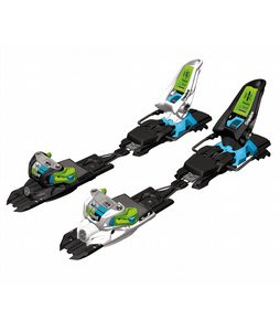 Marker Squire Schizo Ski Bindings Black/Green/Blue