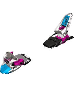 Marker Squire Ski Bindings White/Black/Magenta