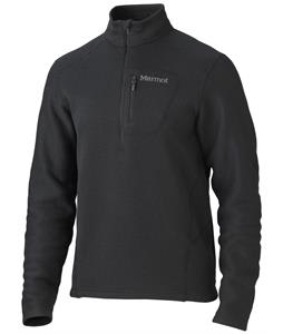 Marmot Drop Line 1/2 Zip Fleece Black