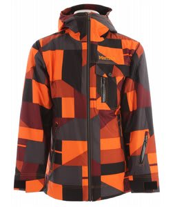 Marmot Geomix Ski Jacket Orange Geo