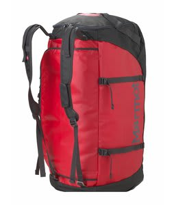 Marmot Long Hauler Duffel Bag Team Red/Slate Grey