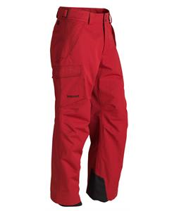 Marmot Motion Ski Pants Dark Crimson