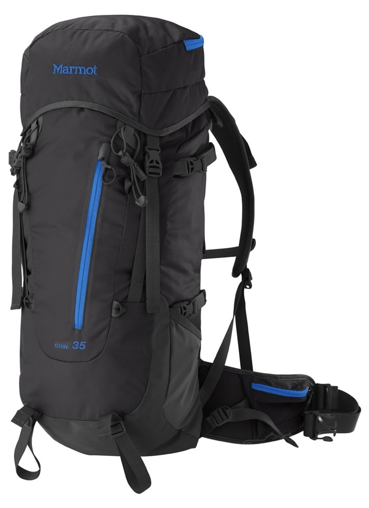 Marmot Odin 35 Backpack Black/Blue Ocean