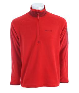 Marmot Reactor 1/2 Zip Fleece Team Red
