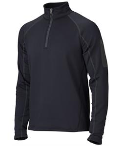Marmot Stretch 1/2 Zip Fleece Black