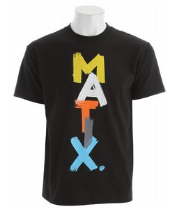 Matix Aaron T-Shirt Black