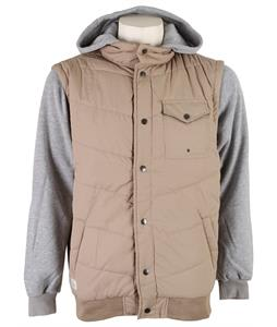 Matix Asher Chevron Fleece Khaki