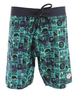 Matix Batix Boardshorts Green