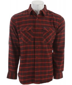 Matix Bidder Flannel Burnt Orange