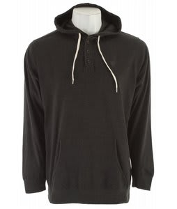 Matix Builders Henley Hoodie Heather Black