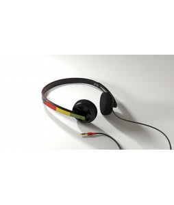 Matix Bulkhead Headphones Rasta