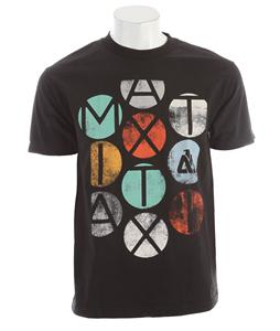 Matix Colors T-Shirt Black