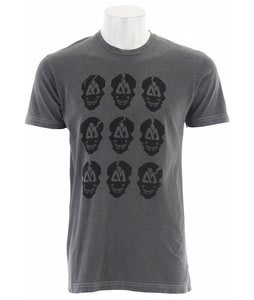 Matix Cranes Wash T-Shirt Grey Macbre