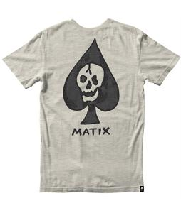 Matix Death Card T-Shirt Natural